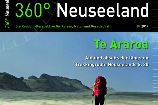360 Grad Neuseeland Te Araroa