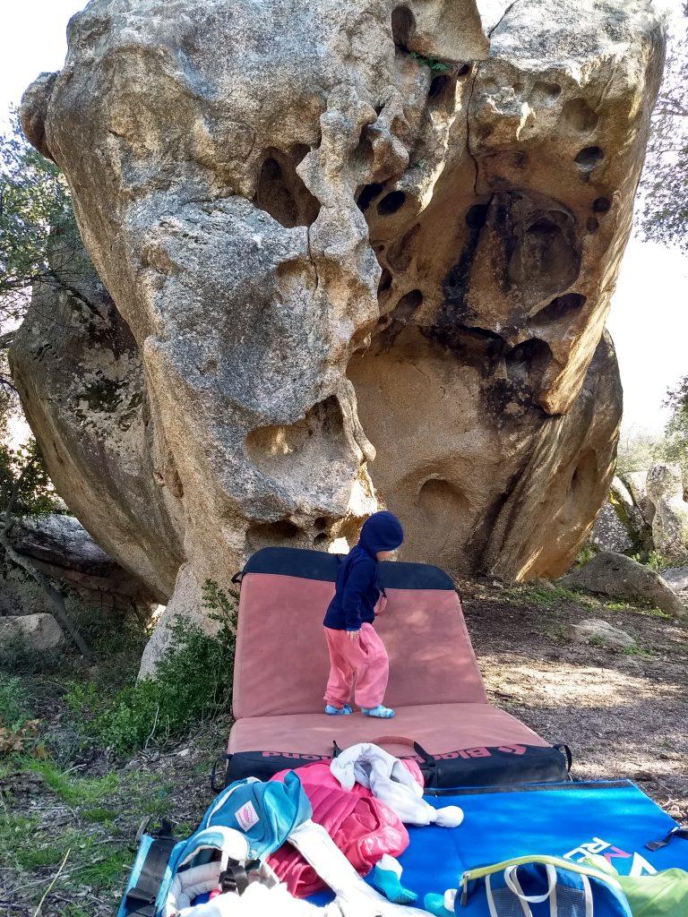 Bouldern auf Sardinien