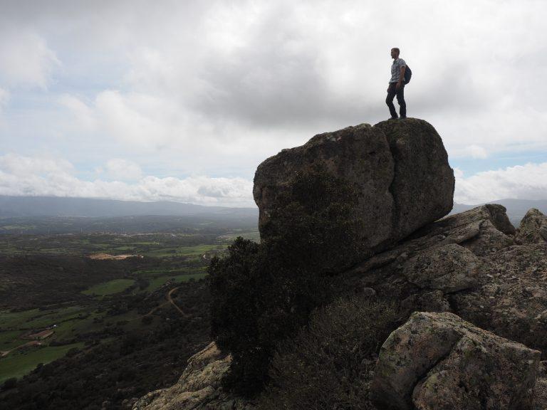 Bouldern Sardinien lange Cerra