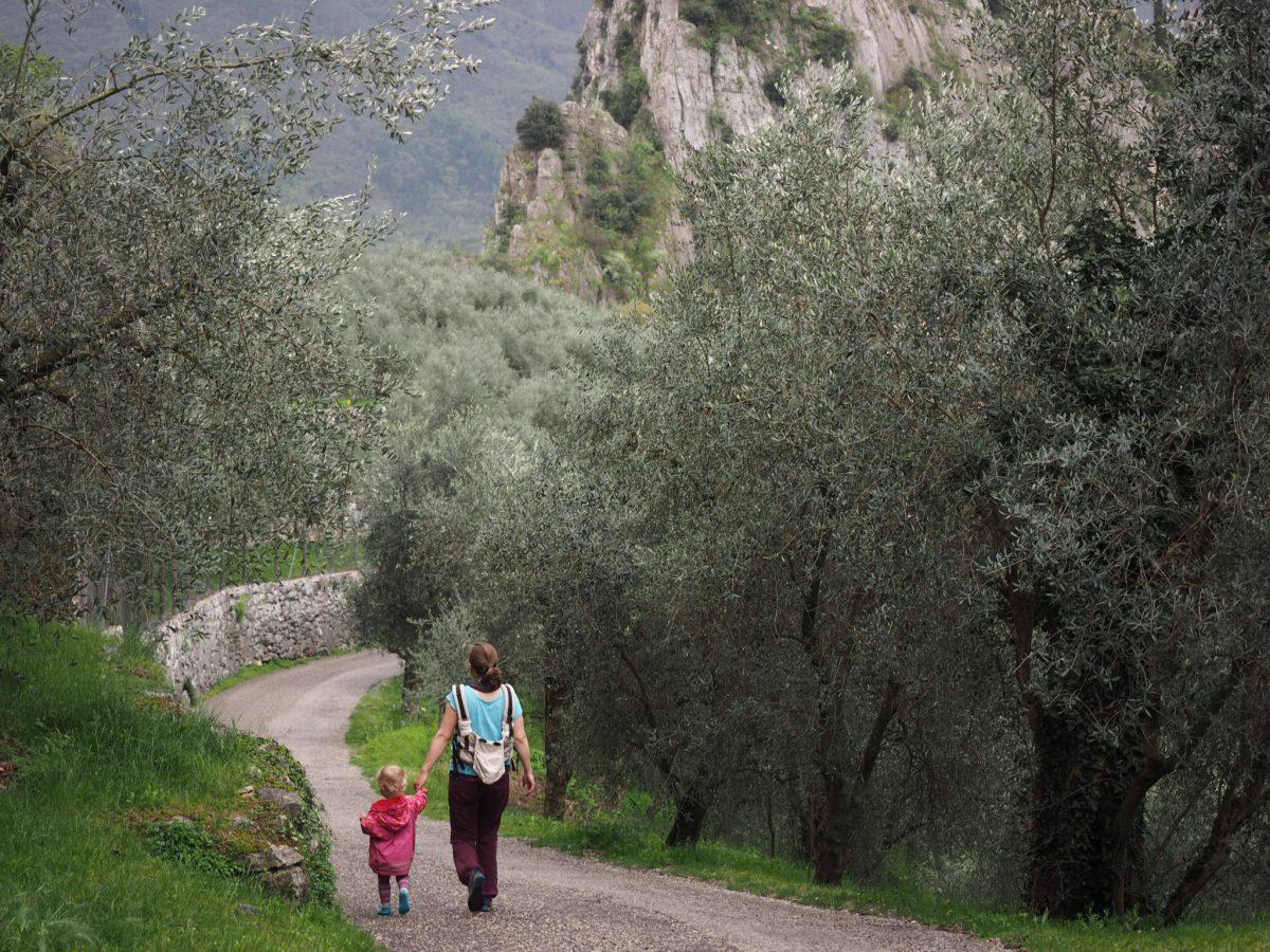 Gardasee mit Kleinkindern