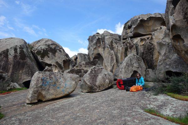 Bouldergebiete auf Sardinien