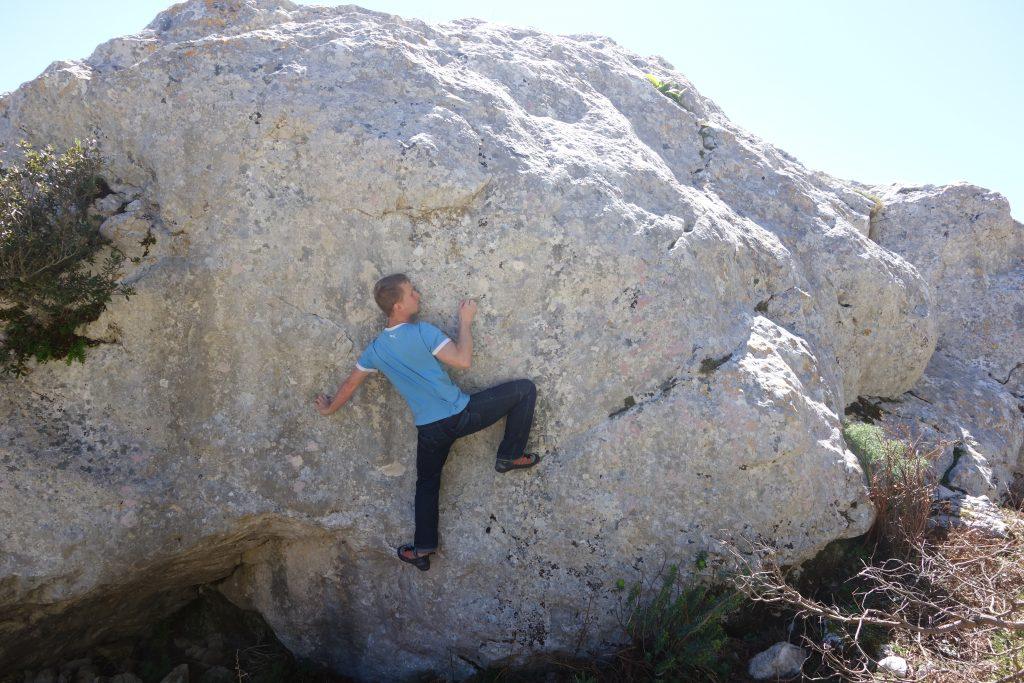 Bouldergebiete Sardinien