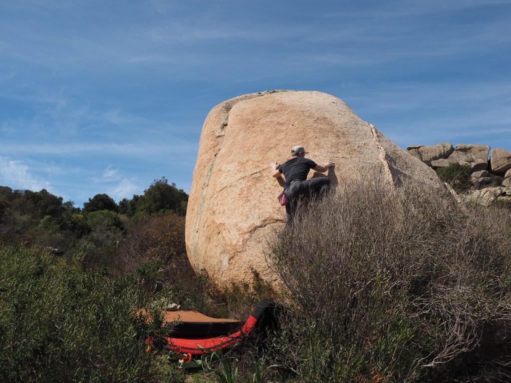 Bouldergebiete auf Sardinien - La Cerra